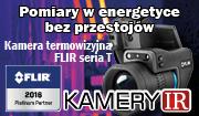Kamery termowizyjne Flir u platynowego dystrybutora